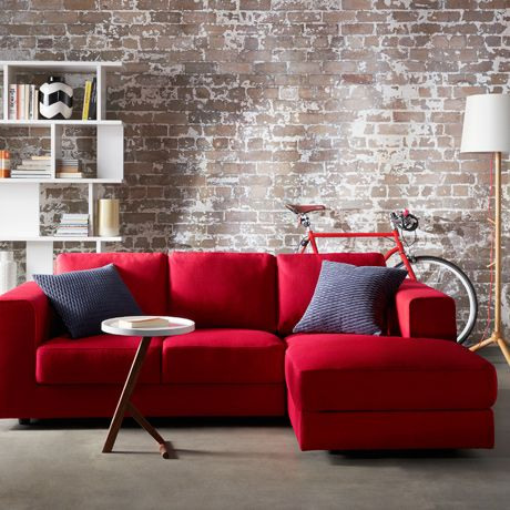 huge leather sectional sofa 2 go campbelltown the amazing red – goodworksfurniture