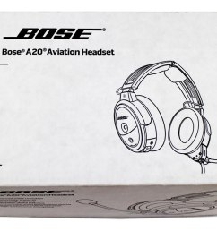 bose a20 aviation headset with standard 5 pin xlr plug cable black 324843 2070 discounted retail products coupons [ 1024 x 768 Pixel ]