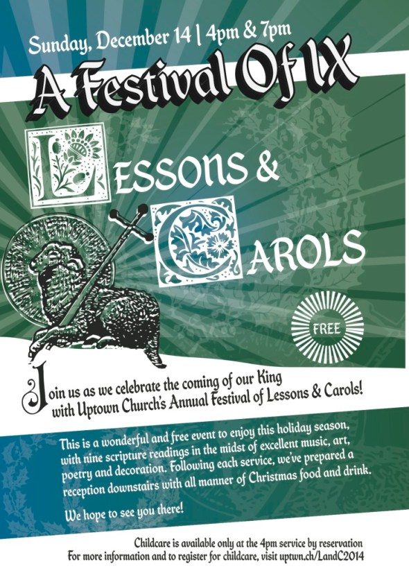 uptown lessons carols 2