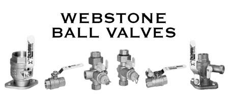 Webstone Ball Valves