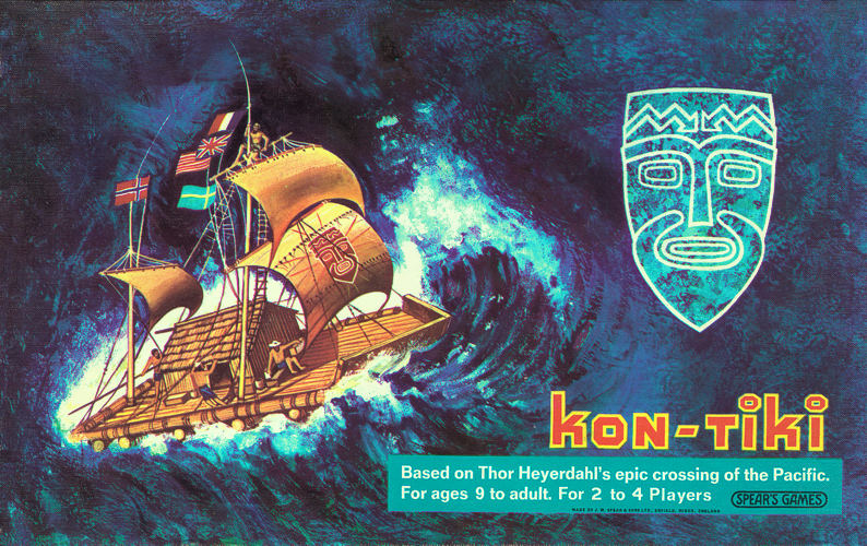KonTiki The Board Game in Randys Bamboo Room