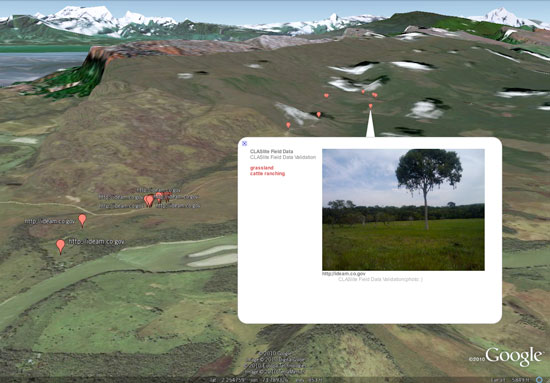 google earth odk visualize