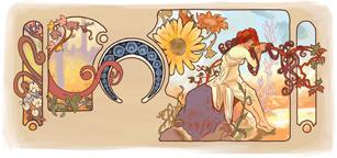 Alfons Mucha's 150th Birthday