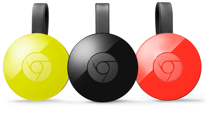 Google Chromecasts