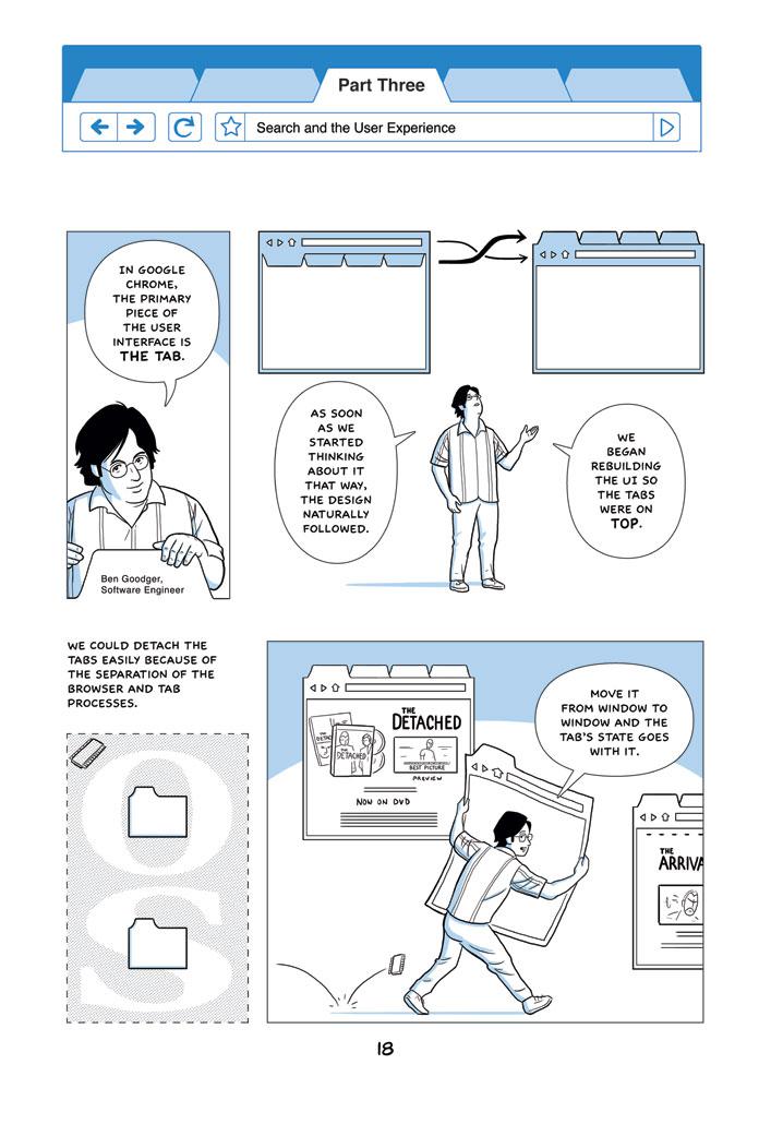 Chrome Comic page