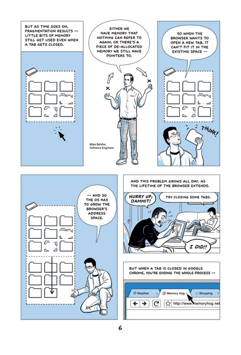 Scott McCloud's Comic Explaining Google Chrome
