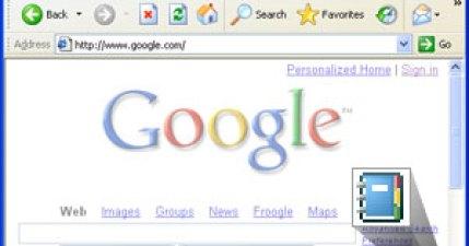 Google Notebook - IE便籤