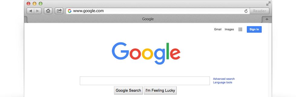 Make Google your homepage  Google