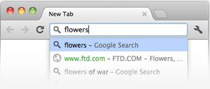 Hộp đôi của Google Chrome