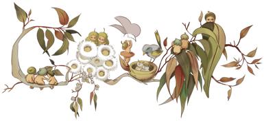 Cecilia May Gibbs Google Doodle 136 birthday anniversary