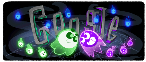 Google doodle for halloween brings 'magic cat academy' game back from 2016. Google Doodles