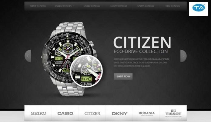 Dịch vụ thiết kế website bán đồng hồ uy tín, chuyên nghiệp tại Thuận An