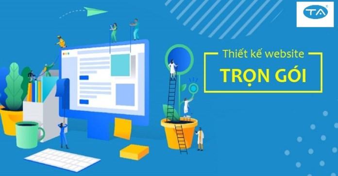 thiết kế website bán hàng chuẩn SEO của công ty dữ liệu số Thuận An