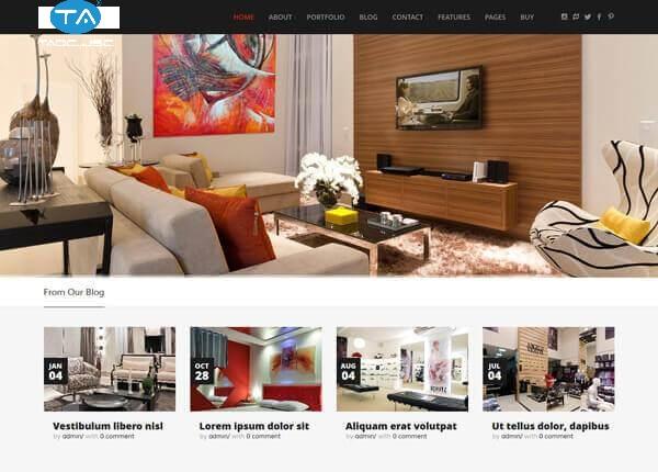 Nên thiết kế website công ty xây dựng, kiến trúc, nội thất ở đâu?