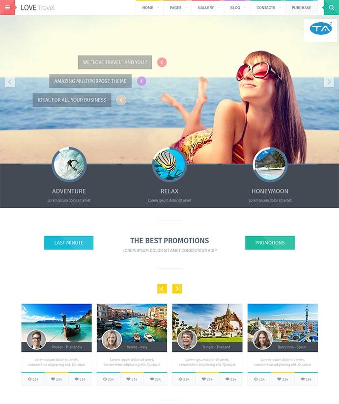 Giải pháp thiết kế website du lịch của Thuận An