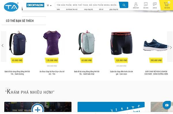 Thiết kế website bán đồ thể thaocần lưu ý gì?