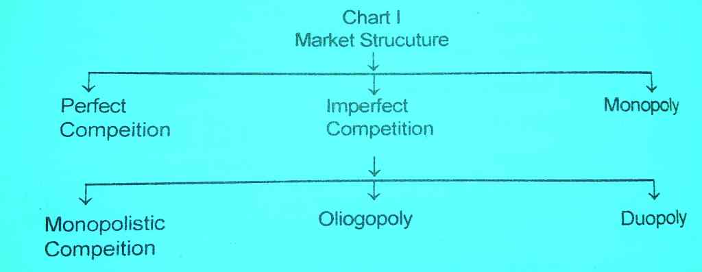 Market: Definitions, Classification, Structure, Features chart