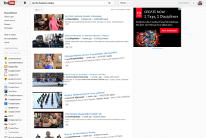 YouTube Easter Egg Harlem Shake