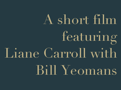 Liane Carroll with Bill Yeomans, 2 February 2018 at Googlies