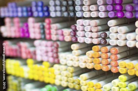 Hong Kong Copic Markers