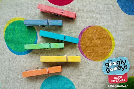 Sitting Pretty Hand-dyed Clothespins
