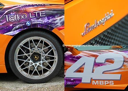 Choose Tattoo Orange Lamborghini