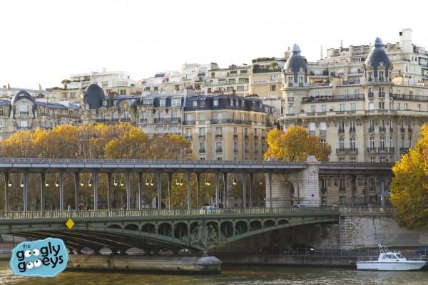 Paris Metro Above Ground