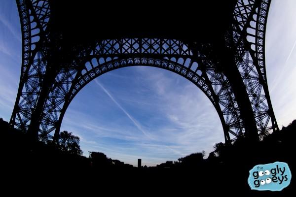 Under the Eiffel Tower