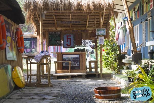 Flotsam Jetsam Reception Area