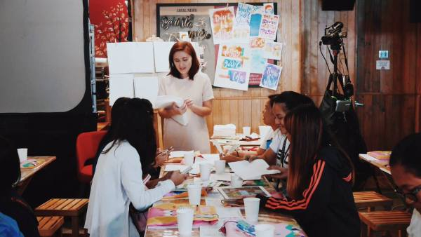 Watercolor Workshop Instructor