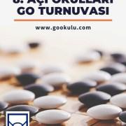 8. Açı Okulları Go Turnuvası