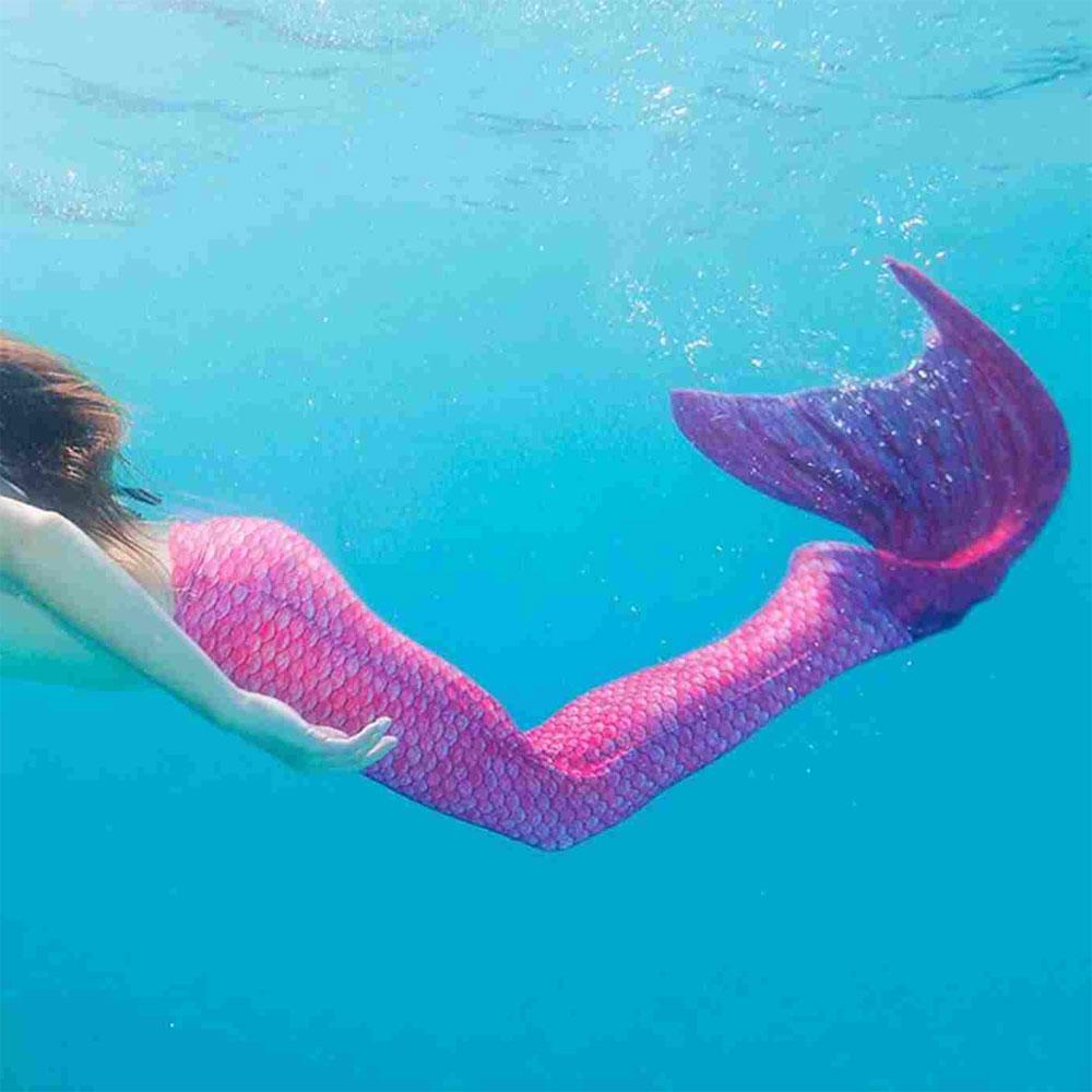 Coda da Sirena per nuotare con Monopinna Inclusa di Fin