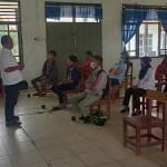 Puluhan Warga Desa Aornakan Pakpak Bharat Terima Penyuluhan Pertanian dan Perikanan