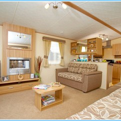 Cherry Wood Table And Chairs Desk No Wheels Goosewood Park Static Caravans York, Vale Of York Self-catering Holidays.