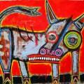 نقاشی «گاو» از مت سسو