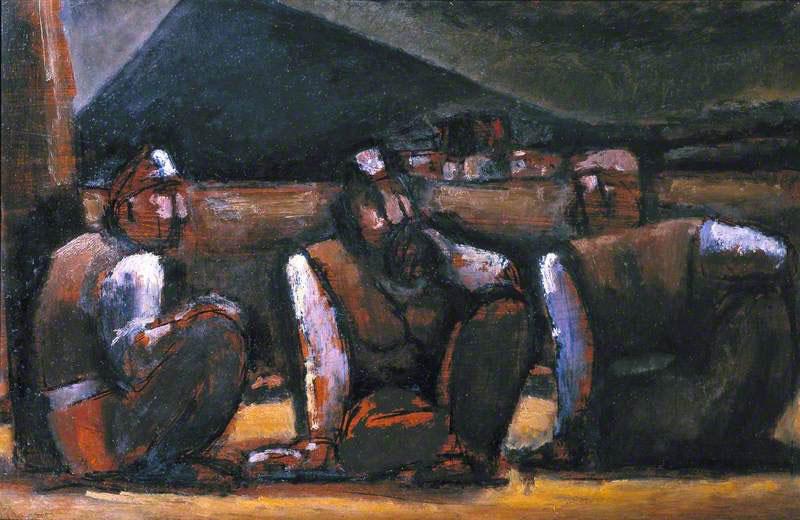 سه معدنچی ـ جوزف هرمان