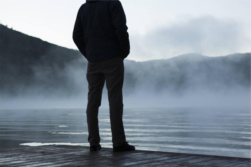 مرد تنها