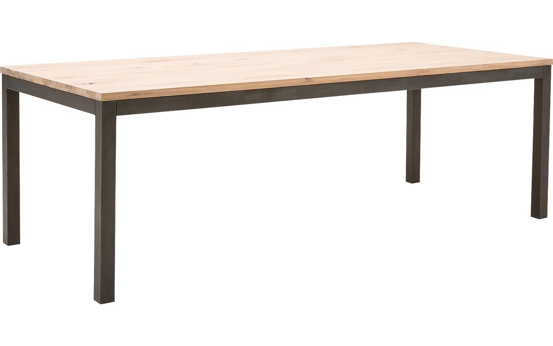 Eettafel Max Onbewerkt Eiken kopen Goossens meubelwinkel