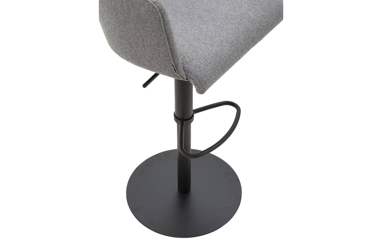 Barkruk Flamingo Grijs stof kopen  Goossens meubelwinkel
