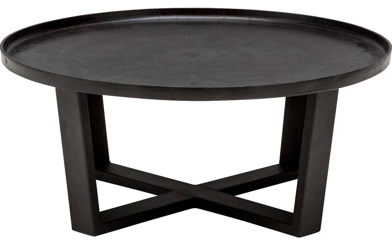 Salontafel Lola Zwart metaal kopen  Goossens meubelwinkel