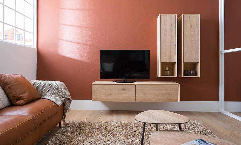 Gezelligheid in huis  Warme kleuren