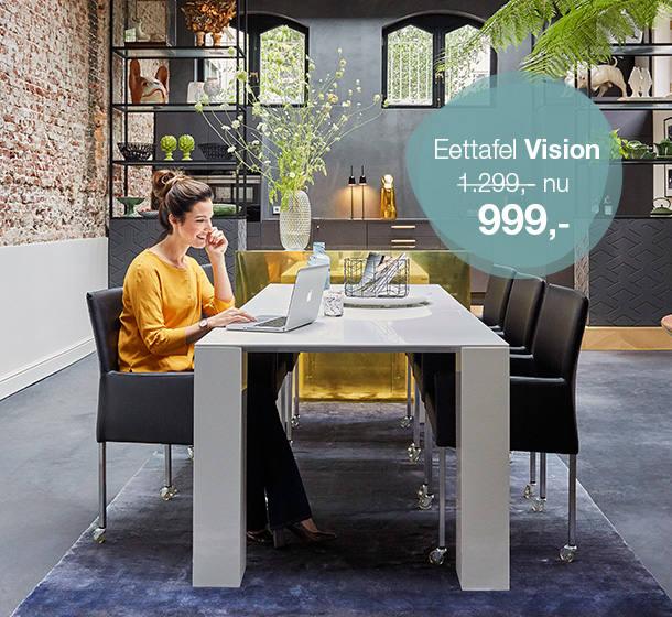 Eettafel Vision