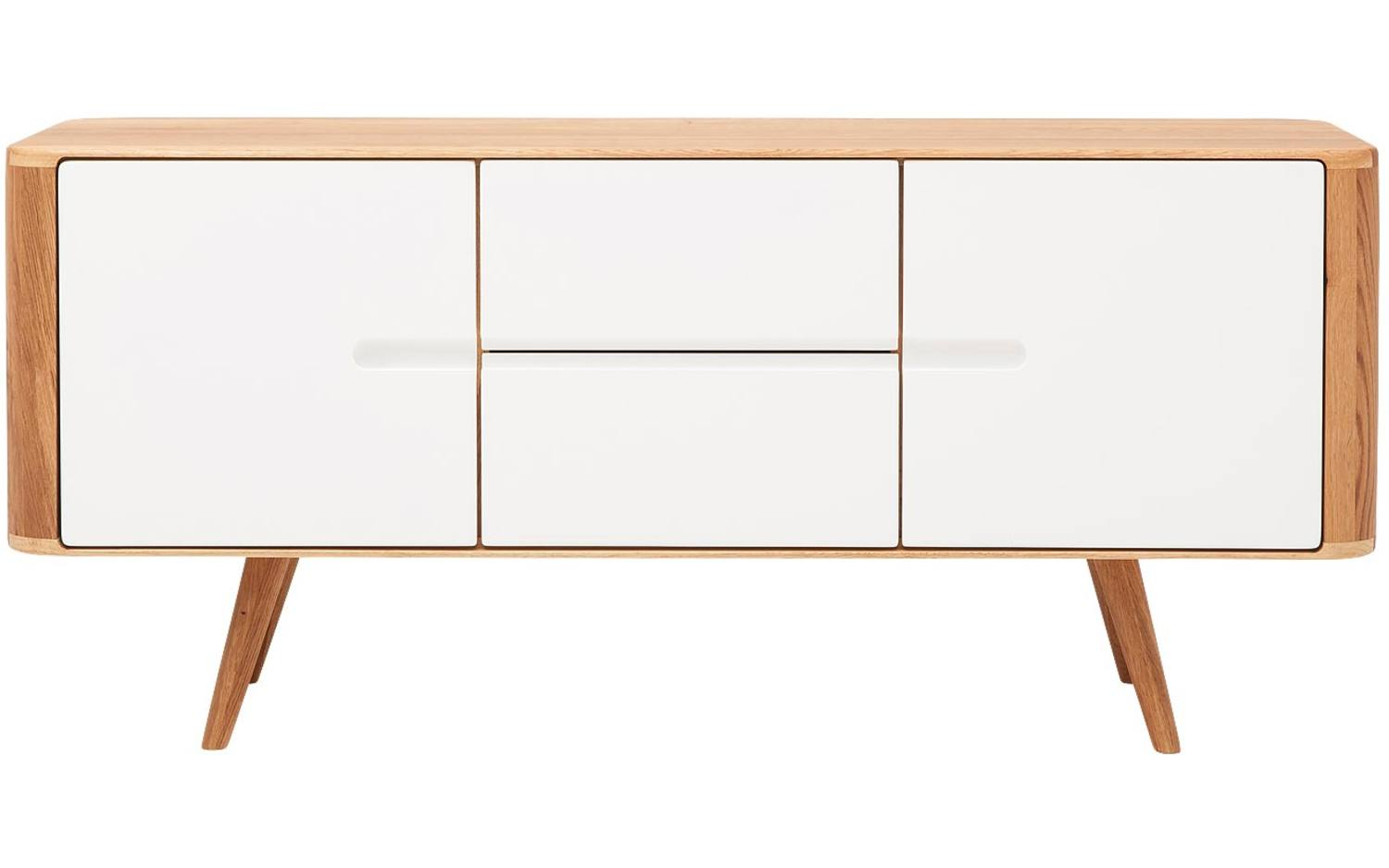 Dressoir Wit Hout Awesome Provence Dressoir Wit Hout With