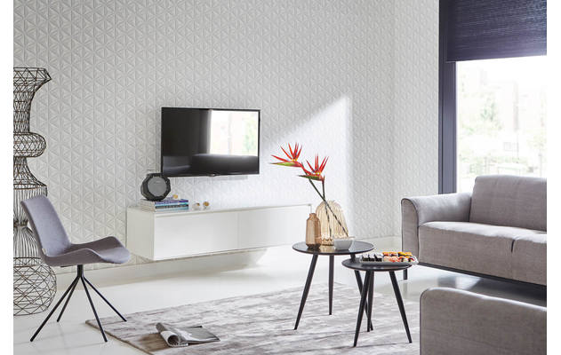 Tv Meubel Velante Blank Eiken kopen  Goossens