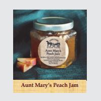 Aunt Mary's Peach Jam