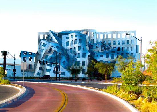 تصاویر ساختمان یک درمانگاه تخصصی مغز(Cleveland Clinic)