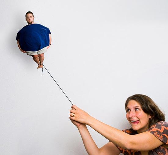 عکس   تصویر خندهدار از زندگی زناشویی