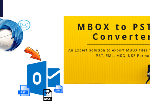 MBOX Converter: Convert MBOX to PST, EML, MSG, NSF & Office 365 Account