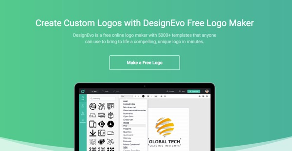 How to Create a Beautiful Logo in DesignEvo