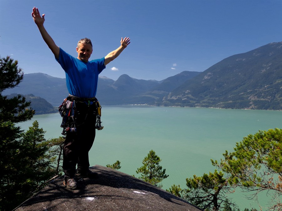 Kev Summits Squamish